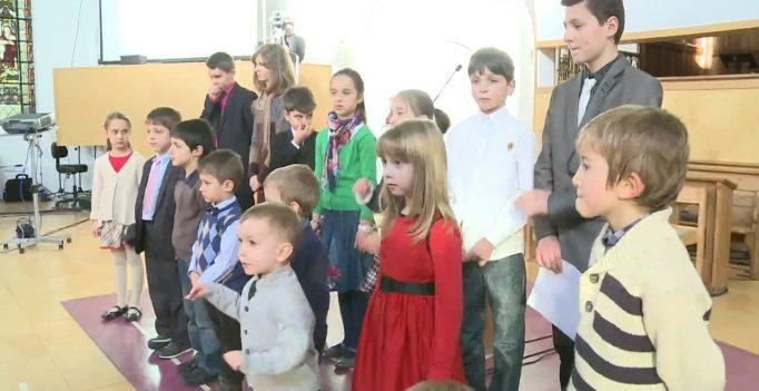 01 Dec 2012: Domnul Isus, prietenul copiilor – Program special de copii