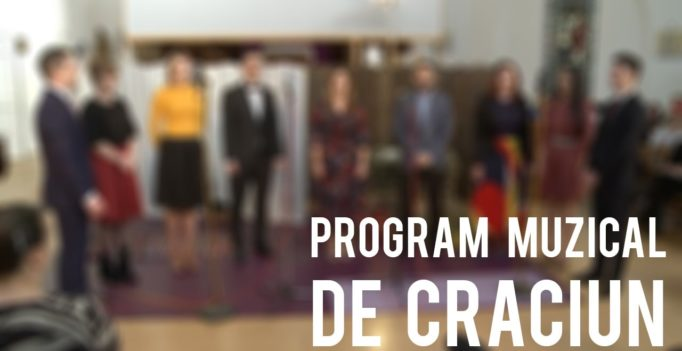 Program Muzical de Craciun