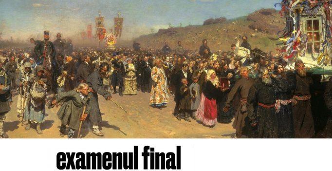 Semnele Timpului: 10. Examenul final – Sorin Petrof