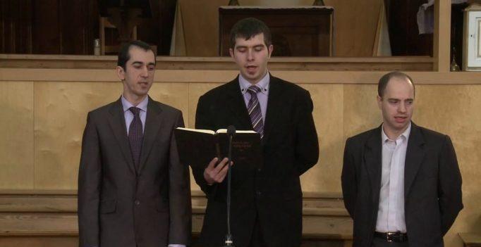 "28 Jan 2012: Se joaca piesa ""De-a biserica"" – Alex Mareniuc"